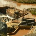 Barrage hydraulique pour la centrale de Sahanivotry