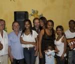 L'équipe du Centre esthétique lors de la présentation à Majunga