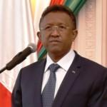 Le président Hery Rajaonarimampianina
