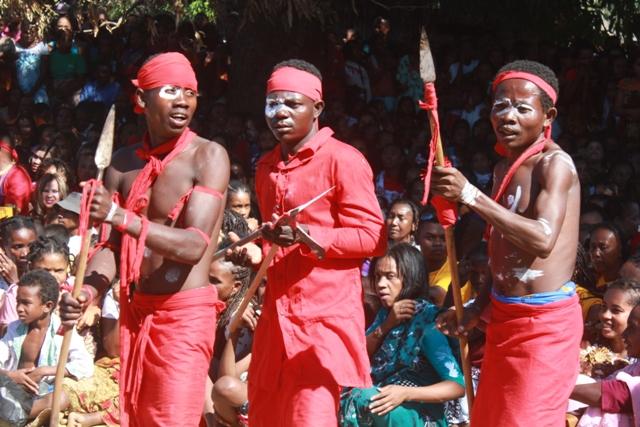 Les Jeriky ou les soldats du roi de l'ethnie sakalava