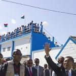 Le président Rajaonarimampianina à Fianarantsoa pour inaugurer un stade moderne aux couleurs de son parti