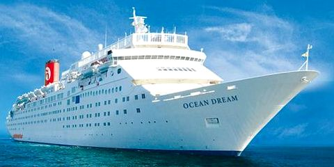 Le paquebot Ocean Dream à Fort-Dauphin