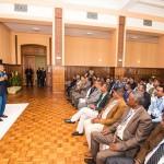 Le président Rajaonarimampianinaa répondu à ses détracteurs lors d'une réunion avec les maires de la région Vakinankaratra