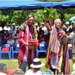 Une cérémonie de kabary lors du nouvel an malagasy (Ph. Ortana)