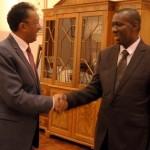 Le président Rajaonarimampianina et son troisième premier ministre en deux ans, Solondrasana Olivier Mahafaly (Ph. PRM)