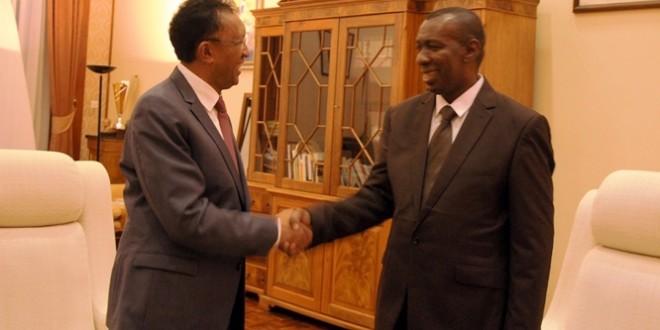 Premier ministre : Rajaonarimampianina a fait le choix de 2018