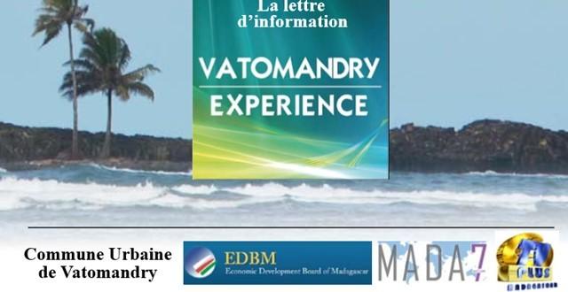 « Vatomandry Expérience » : promouvoir le tourisme et l'économie locale