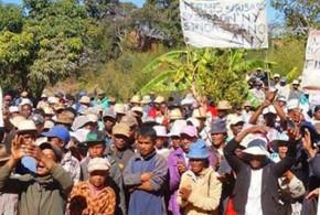 Emeutes et arrestation à Soamahamanina