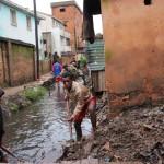 La réalité quotidienne dans de nombreux quartiers de Tanà
