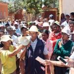 Des villageois revendiquent la libération de leurs amis emprisonnés