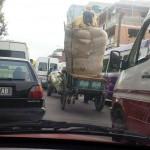Une circulation et des moyens de déplacement souvent exceptionnels à Antananarivo
