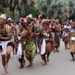 Une ambiance festive au carnaval avec les représentants de la région Androy, qui fascinent toujours.