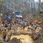 La carrière de Didy attire des milliers de miniers qui prennent beaucoup de risque.