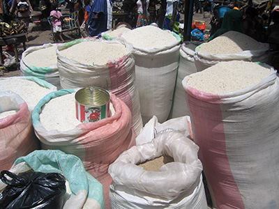 Le prix du riz s'envole
