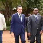 Propos diplomatiques entre le Premier ministre malgache et l'ambassadeur de l'Union Européenne