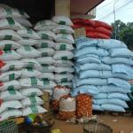 stock de riz