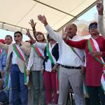 Des députés de l'opposition sur la place du 13 mai