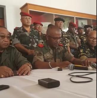 Crise politique : Les militaires font entendre leur voix