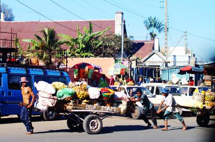Les charrettes de plus en plus fréquentes à Tanà